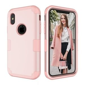 NWT Pink iPhone X Protective Case Heavy Duty